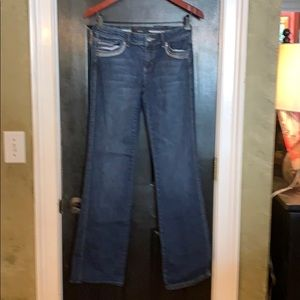 NOIR WHBM bootcut stretch jeans 4